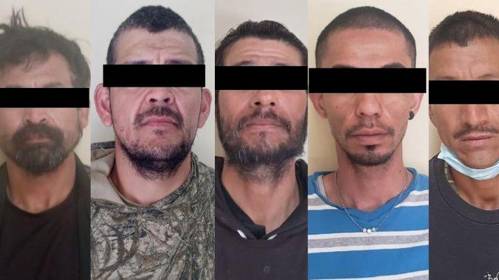 Sacan de las calles a cinco presuntos 'tiradores' en Sonora; llevaban marihuana y 'crystal'