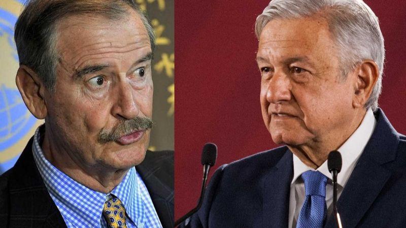 """AMLO, destrozado por Vicente Fox: """"Si el atole fueran vacunas, ya estaríamos vacunados"""""""