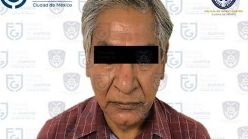 CDMX: Autoridades detienen al sujeto que fue captado mientras golpeaba a su madre de 95 años