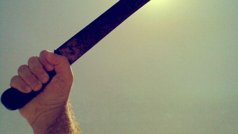 ¡Con machetes! Vecinos dan tremenda golpiza a ladrones que trataron de robar una vivienda