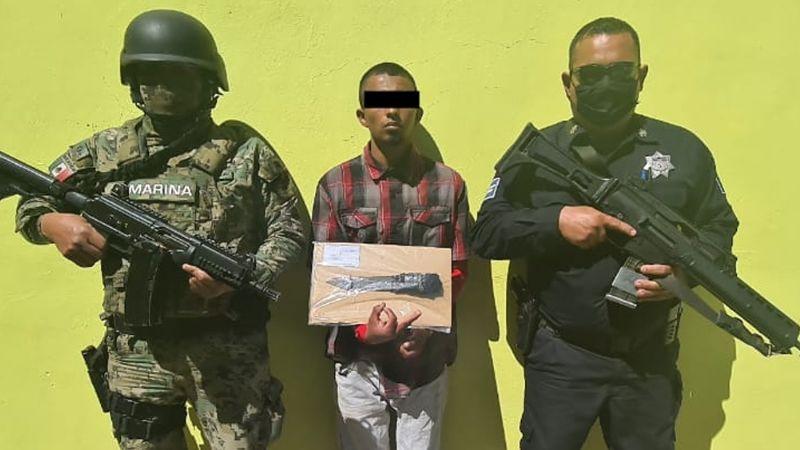 Capturan a Joel al sur de Ciudad Obregón: Era buscado por asalto a personas y a tiendas