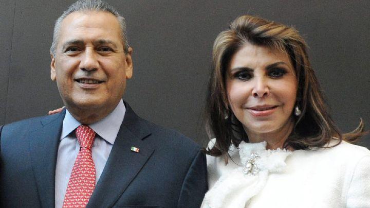 Fallece Sylvia Sánchez, esposa del expresidente del PRI, Manlio Fabio Beltrones