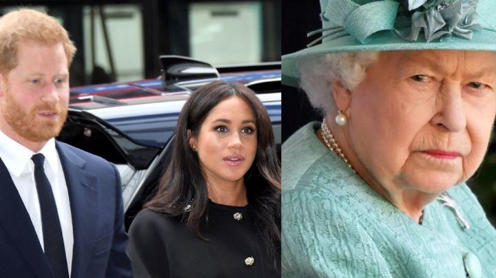 Por temor hacia la Reina Isabel II, Harry y Meghan intentarían cancelar entrevista con Oprah
