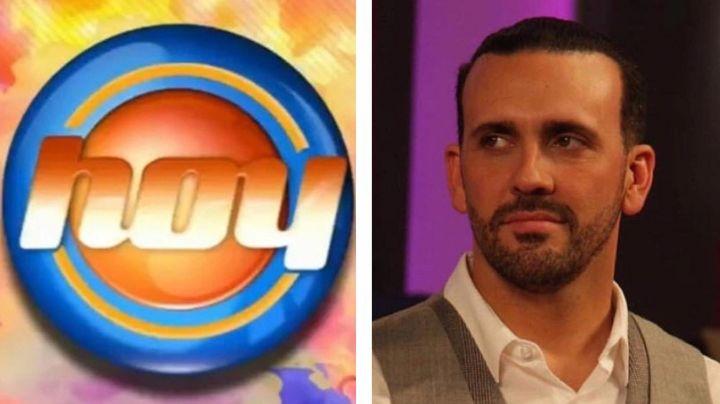 """Conductor vuelve a 'Hoy' tras hablar pestes del programa y todo Televisa lo destroza: """"Ten dignidad"""""""