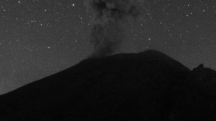 Popocatépetl 'despierta' y aumenta actividad; acumula 62 exhalaciones este miércoles