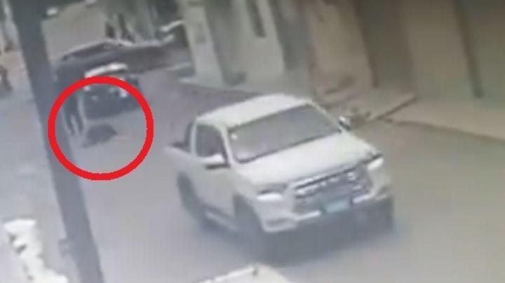 Fuerte VIDEO: Muere atropellado policía de Tultepec; el sospechoso fue vinculado a proceso