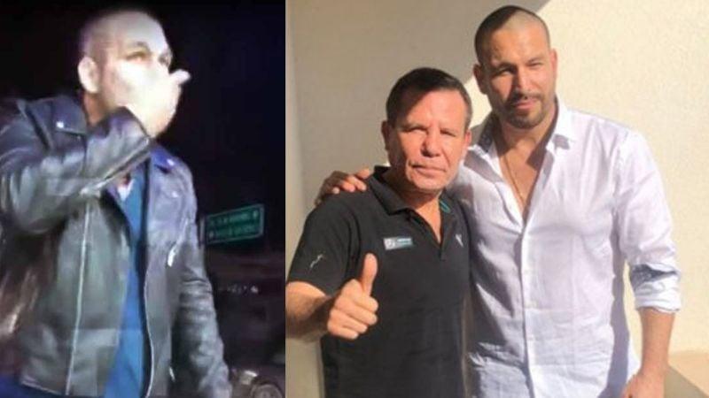 """Tras fotos """"enloquecido"""", Julió César Chávez hace fuerte confesión sobre Rafael Amaya y sus vicios"""