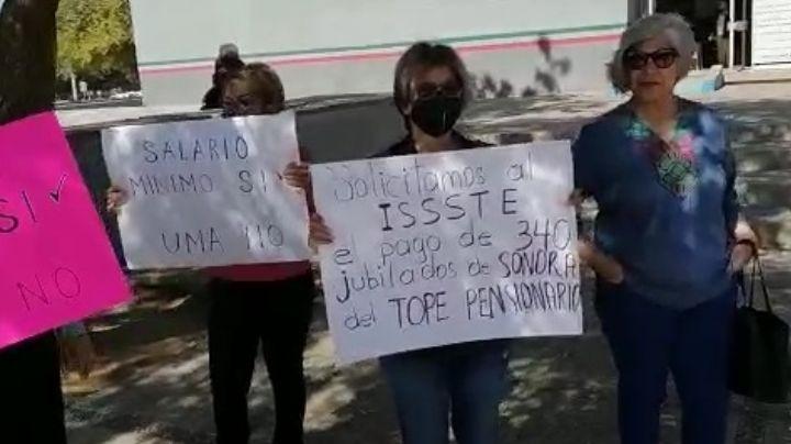 Pensionados y jubilados del Issste piden inhabilitación de pagos con UMA