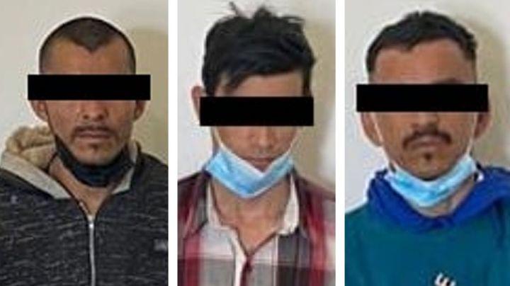 Capturan a tres presuntos sicarios en calles de Ciudad Obregón; tenían un arma larga