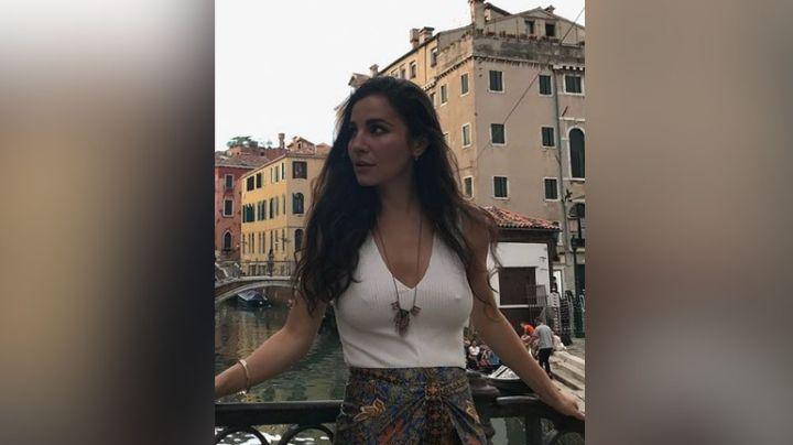 Martha Higareda deslumbra en Instagram al presumir su extravagante vestido