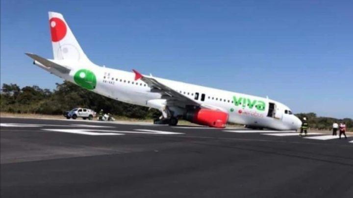 ¡Impactante noticia! Avión de reconocida aerolínea colapsa antes de despegar