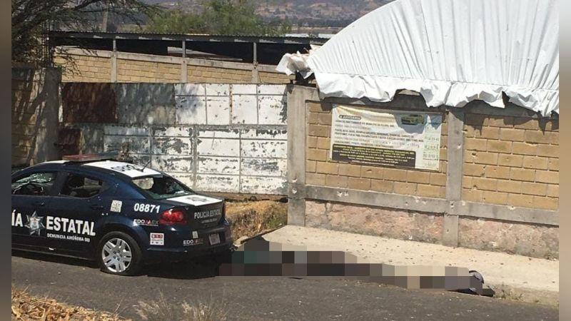 Policías son acribillados tras ser emboscados por civiles armados; hay seis elementos muertos