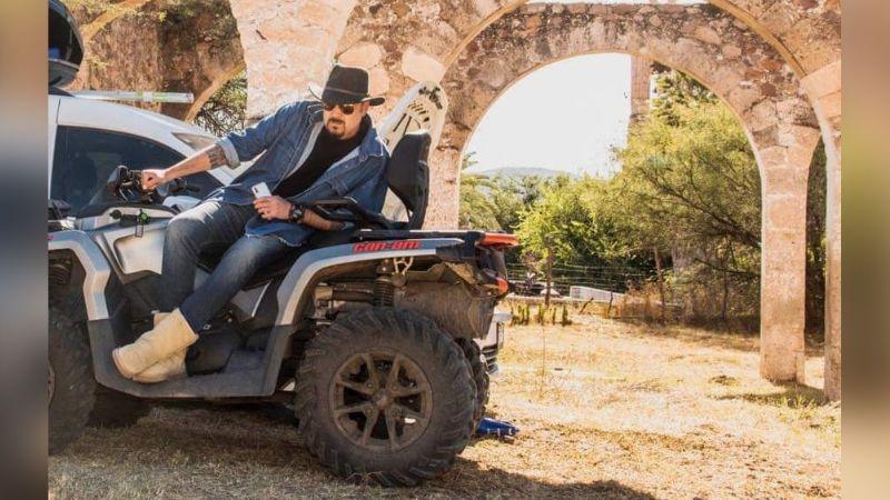 A sus 52 años, Pepe Aguilar vive extrema aventura en su moto, pero ¿estuvo a punto de morir?