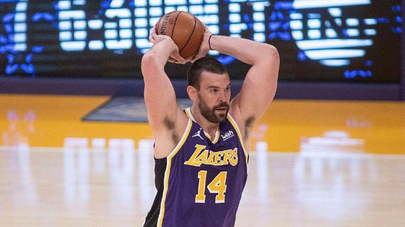 Marc Gasol está muy cerca de volver con los Lakers tras el coronavirus