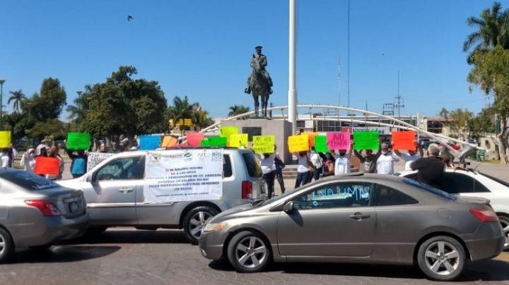 Obregón: Se suman Conalep, Salud y SCT a jubilados del Issste para manifestarse en contra de la UMA