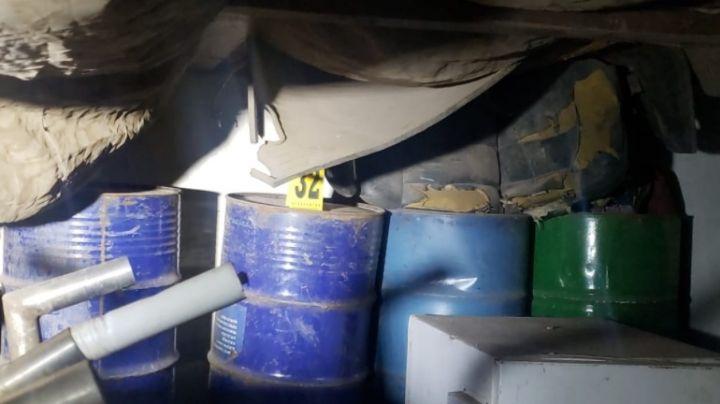 Desmantelan narcolaboratorio en Cajeme en operativo conjunto; hay cuatro detenidos