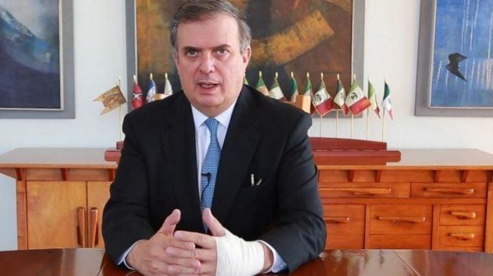 Marcelo Ebrard confirma que vacunas contra Covid-19 enviadas por EU llegan la próxima semana