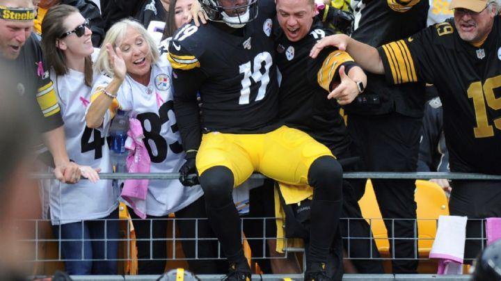 """""""Esta es mi casa""""; JuJu Smith-Schuster decide quedarse con los Pittsburgh Steelers"""