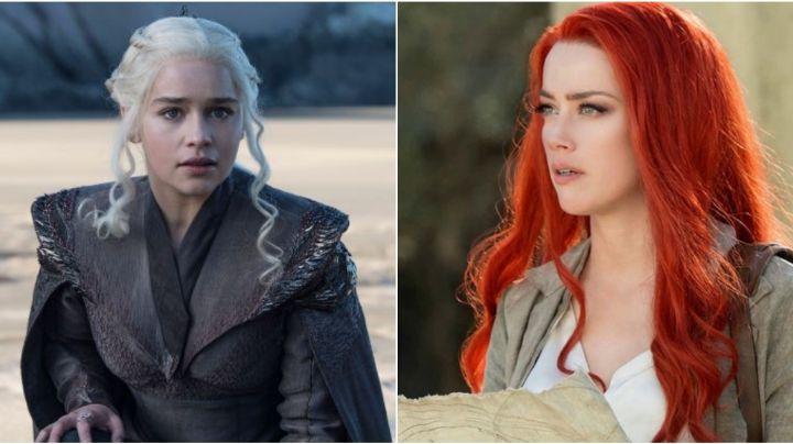 ¿Emilia Clarke tomará el lugar de Amber Heard en la película de DC, 'Aquaman 2'?
