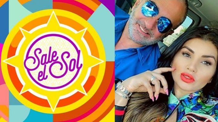 En 'Sale el Sol' advierten a novia de Vicente Fernández Jr.; ponen ejemplo a Mara Patricia