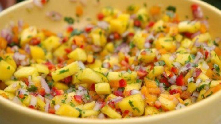 ¡Simplemente delicioso! Recibe a la Semana Santa con este ceviche de mango