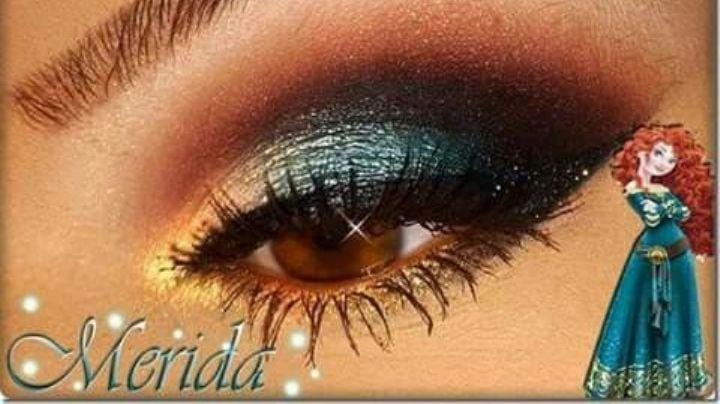 ¡Hermosa y juvenil! Lleva un maquillaje de ojos inspirado en las princesas Disney
