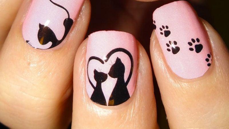 ¡Lleva el estilo en tus dedos! El diseño de uñas con gatos se convertirá en la sensación