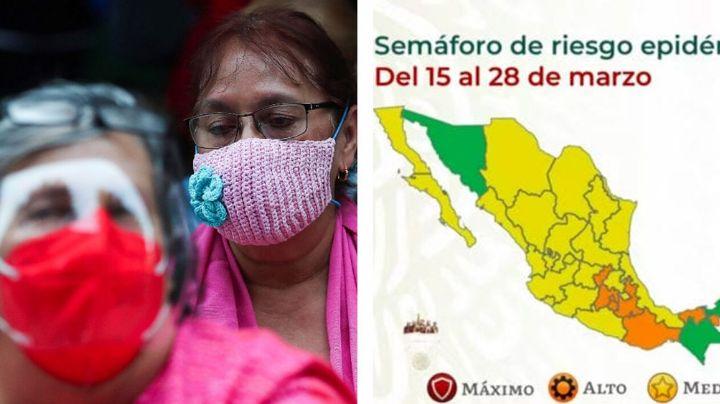 Sonora, en riesgo de volver a amarillo: Salud reporta aumento de contagios de coronavirus