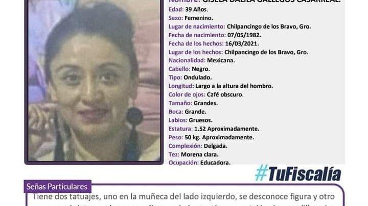 Tras días desaparecidas, localizan a madre y sus dos hijas de 15 y 6 años en Chilpancingo