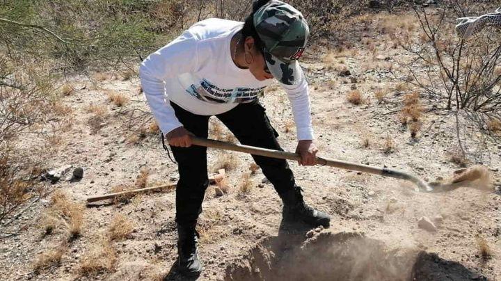 Rastreadoras de Ciudad Obregón localizan osamenta en Pueblo Yaqui; tendría 2 años