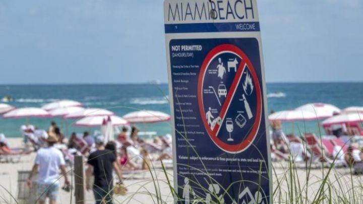 ¡Se acabó la fiesta! Ordenan toque de queda en Miami Beach tras aglomeraciones turísticas