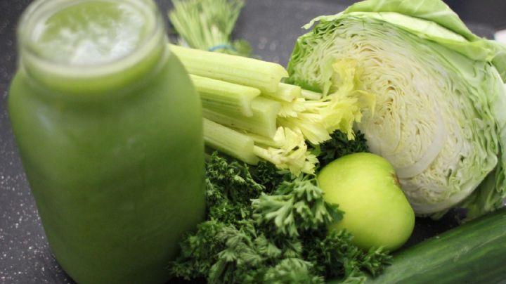 Jugo verde: ¿Qué ingredientes debe tener para considerarse saludable?