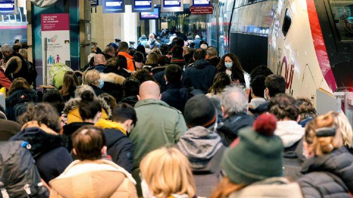 Huyen del aislamiento: Parisinos escapan antes de que inicie la cuarentena por Covid-19