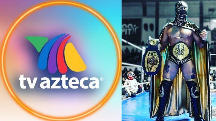 Halcón Negro Jr., famoso luchador, denunciaría acoso sexual de productor de TV Azteca