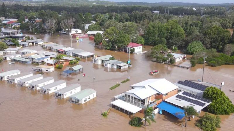Australia, bajo el agua: Lluvias provocan las peores inundaciones en 50 años