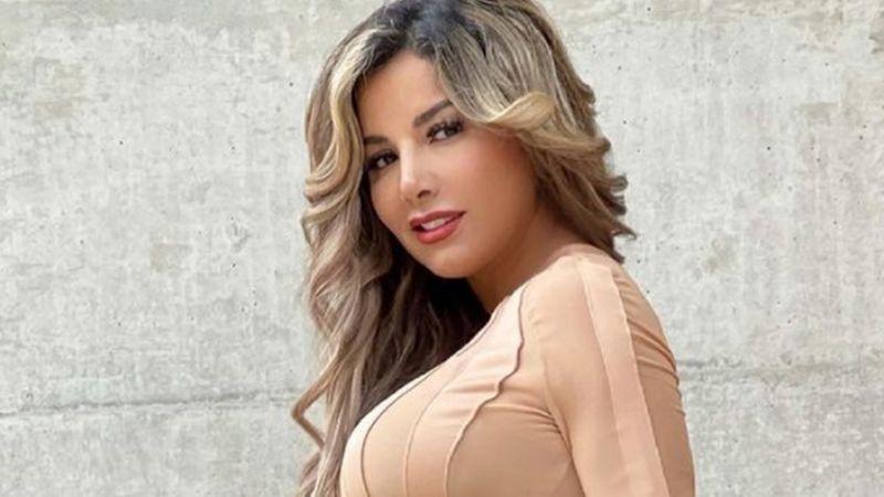 Aleida Núñez, actriz de Televisa, se luce bajo la regadera con espectacular bañador blanco