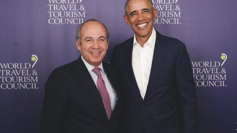 ¡Qué gran gesto! Felipe Calderón presume el regalo que le envió Barack Obama