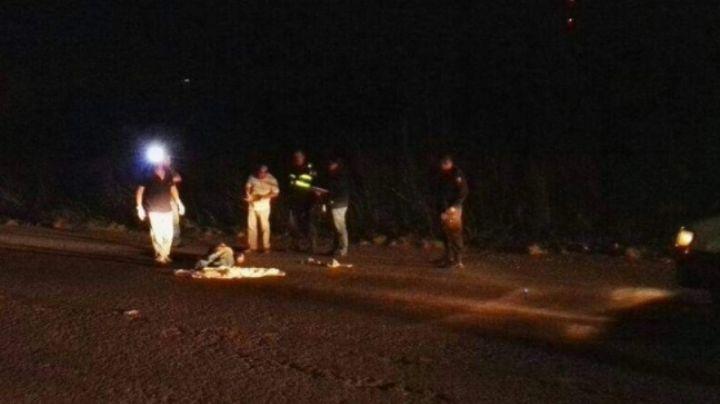 Dos jornaleros mueren atropellados en Caborca; los cuerpos quedaron 1km uno del otro