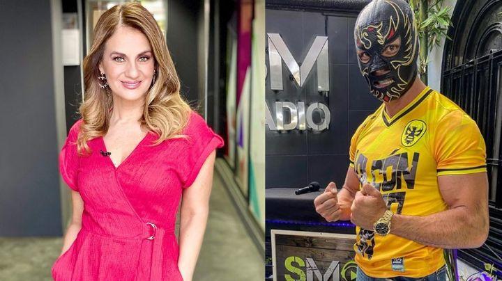 Pleito en TV Azteca: Flor Rubio duda del acoso hacia Halcón Negro Jr.; así le responde