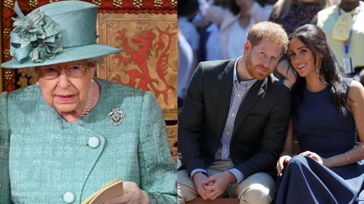 """Drama en la Corona: Harry y Meghan dirían que la Reina Isabel II es """"marioneta"""" de la realeza"""