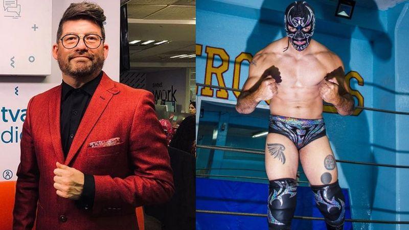 Productor de TV Azteca rompe el silencio sobre las acusaciones de acoso de Halcón Negro Jr.