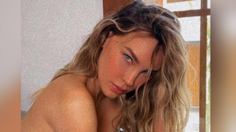 """""""Quién fuera Nodal"""": Belinda acalora las redes con ardientes FOTOS ¡en muy poca ropa!"""