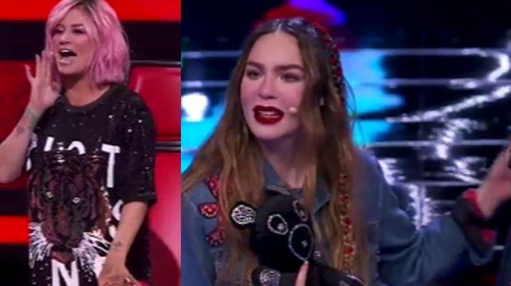 """En el estreno de 'La Voz Kids', María José hace enojar a Belinda: """"¡Ya Josa!"""""""