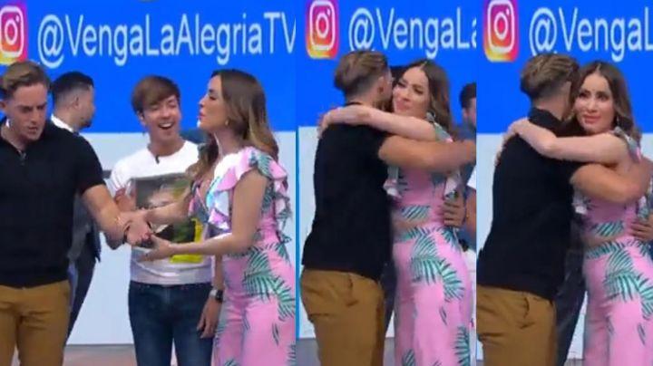 TV Azteca: Destrozan a Cynthia Rodríguez por 'coquetear' con Aristeo Cázares en 'Venga la Alegría'