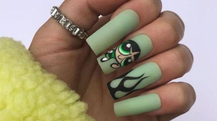 Vive tu infancia una vez más con estos diseños de uñas inspirados en caricaturas