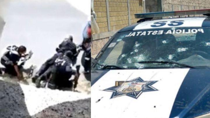 FUERTE VIDEO: Últimos momentos de policías antes de morir masacrados en brutal emboscada