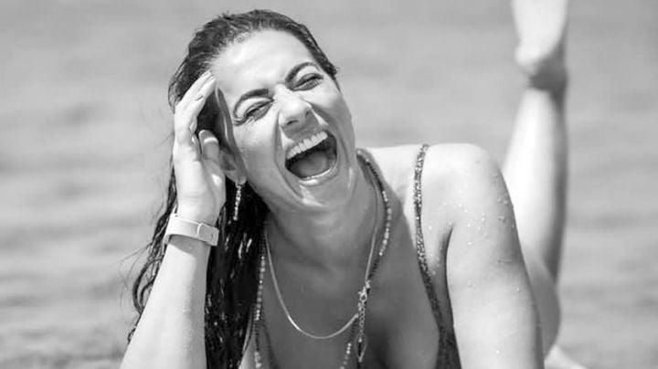 Cecilia Galliano, actriz de Televisa, nada con tremendo bañador negro y lo presume en Instagram