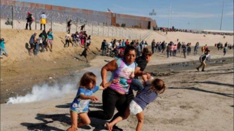 Captan a pequeña niña de 7 años que camina sola en la frontera para llegar a Estados Unidos