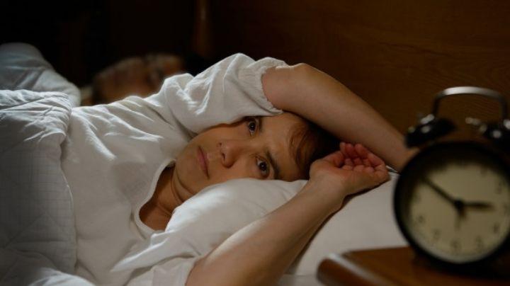 ¡No lo tomes a la ligera! Estos son los síntomas asociados al insomnio por estrés
