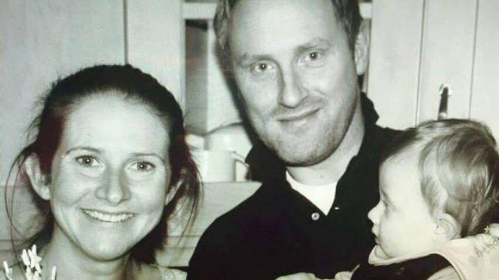 Su bebé murió  y su esposo se suicidó; ahora Rhian dedica su vida a ayudar a otros